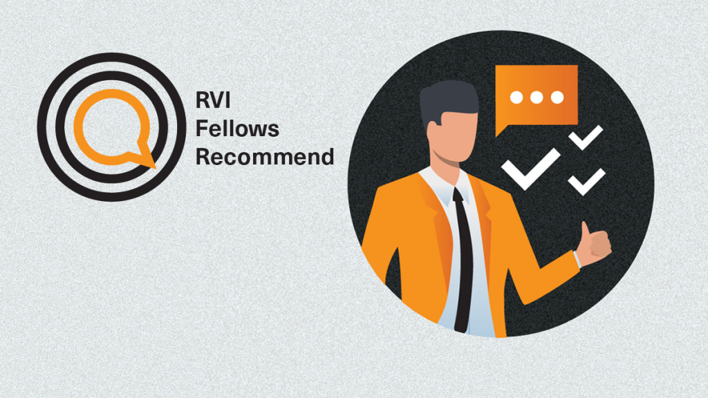 RVI Fellows Recommend: Aleksandar Roknic